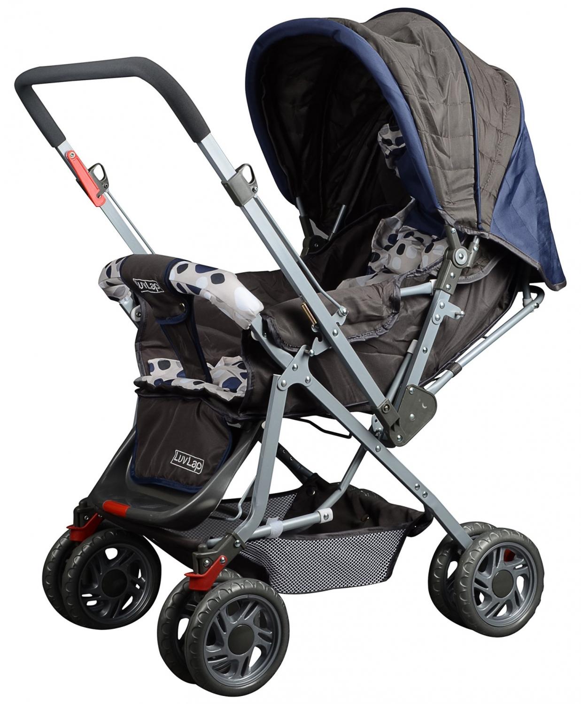 Luv Lap - Sunshine Baby Stroller 1003 C Navy Blue