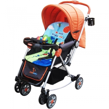 Sunbaby Stroller Jungle Collection - Tall Buddy Giraffe Stroller